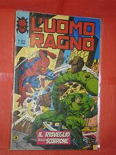 UOMO RAGNO spiderman -N° 272  -prima SERIE 1°- DEL 1977 -CORNO- usato NO PANINI