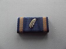 *(A14-319)  Ehrenzeichen gold blau Bandspange, Ordensspange Palme,Feder ?