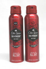 2 Old Spice Refresh Red Zone Collection SWAGGER Body Spray 3.75 oz