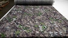 """HTC SPRING CAMO TRUE TIMBER 59""""W 3D LEAF CUT MESH CAMOUFLAGE FABRIC BLIND GHILLE"""