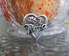 NUMBER #1 NANA HEART PEWTER PIN ALL NEW.