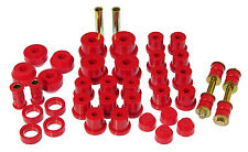 Prothane 65-66 Ford Mustang Complete TOTAL Suspension Bushings Insert Red Kit