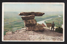 c1902-07 Umbrella Rock Point Lookout Mountain Tennessee postcard