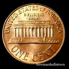 1968 D Lincoln Memorial Penny ~ Uncirculated Cent from Bank Roll