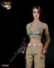 """12"""" Action Figure Female Soldier Combat Clothing Suit 1/6 Toy Fire Girl FG004"""