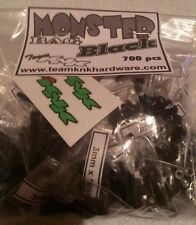 Monster Bag 700 pc 3mm Black Oxide Steel Screws bulk axial scx10 wraith KNK