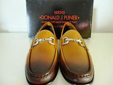 Donald J. Pliner Nadim Whiskey Italian Loafers 9.5M