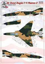 Print Scale 1/72 McDonnell F-4 Phantom Stencil Data for up to Three Aircraft in