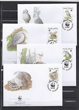 New Caledonia 1998 - FDC - Vogels/Birds/Vögel  WWF/WNF