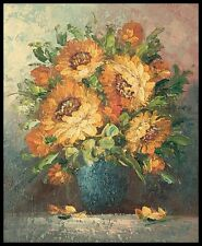"""Sunflowers, 10""""x8"""" Oil Painting on Canvas, Hand Painted"""