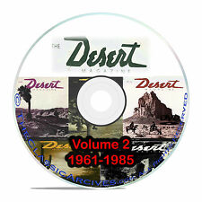 Desert Magazine, 1961-1985, Volume 2 Southwest American Life Magazine CD DVD B58