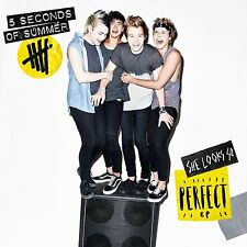 5 SECONDS OF SUMMER 'SHE LOOKS SO PERFECT EP' CD + Sticker (2014)