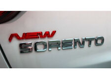 3D New Logo Emblem 1pc Clear red type For 13 Kia New Sorento 2013