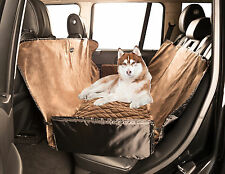 LUXE MICRO-VELVET CAR DOG SEAT COVER PET PROTECTIVE COVER HAMMOCK