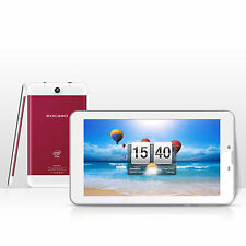 "7"" Inch Tablet Android 5.1 Quad Core 8GB Dual Camera WiFi Bluetooth - Red"