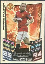 TOPPS MATCH ATTAX 2012-13- #LE1-MANCHESTER U-WAYNE ROONEY-LIMITED EDITION-FOIL