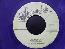 SKA DON DRUMMOND JFK MEMORY TREASURE ISLE SKA!!!!!!!
