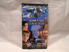 STAR TREK CCG MIRROR MIRROR COMPLETE SEALED PACK OF 11 CARDS