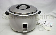 6L ELECTRIC RICE COOKER POT WARMER NON STICK COOK AUTOMATIC RICE 40 CUPS PRO