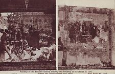 RPC Postcard: WW1 - Pictures of Battle Damaged Buildings in France