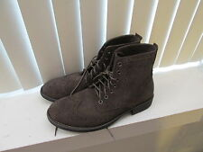 NEW AMERICAN EAGLE AEO Suede / Leather wingtip ankle boots size 11 D