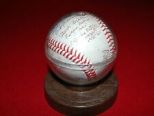 AAGPBL - Autograph American Women's Baseball Federation Ball - 12 HOF Signatures