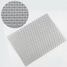 #5-Stainless Steel Woven Mesh - 4mm Aperture - 1mm Wire -A5 Sheet (150 x 210mm)