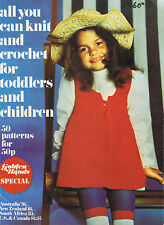 vintage All You Can Knit & Crochet for Toddlers & Children 50 Patterns