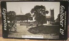 PARK in DUNGARVAN Co. Waterford Cigarette Card GALLAHER IRISH VIEWS 331 Ireland