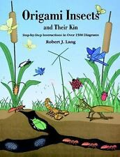 Dover Origami Papercraft: Origami Insects by Robert J. Lang (1995, Paperback)