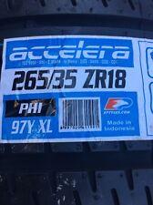 265 35 ZR18 XL 265/35ZR18 97Y ACCELERA PHI XL  NEW TYRE * AMAZING RATINGS C C *