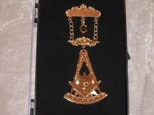 Masonic Past Master with Square Jewel Pin Fraternity Freemaon Engravable NEW!