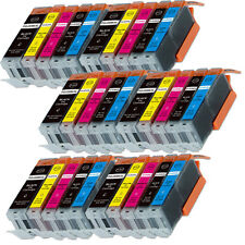 30 PK Ink Cartridge fits Canon Pixma PGI-250XL CLI-251XL MG5622 MG6600 MG6620