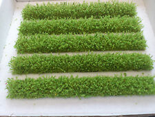 OO gauge strips of Light Green hedging for Model Railway/Diorama