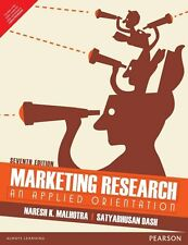 Marketing Research : An Applied Orientation by Spss SPSS and Naresh K. Malhot...