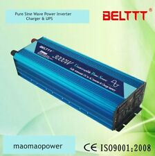 3000W 6000W Peak DC12V to AC220V Pure Sine Wave power Inverter + Charger & UPS