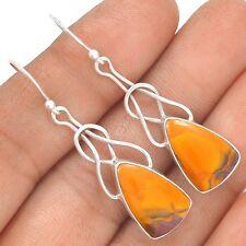 Mookaite 925 Sterling Silver Earrings Jewelry SE125771