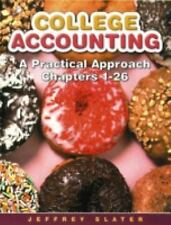 College Accounting: A Practical Approach Chapters 1-26 8th Edition