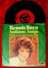 Single Renate Kern: Andiamo Amigo (Polydor 2041 442) D 1973