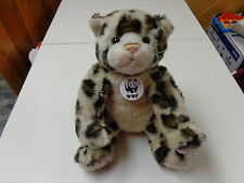 BUILD A BEAR WWF  SPECIAL CHEETAH  CAT  PLUSH DRESSABLE  TOY  EUC