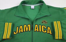 NIKE Track JACKET Jamaica XL Green FULL Zip AIR Size SZ Man MENS Multicolor AIR*