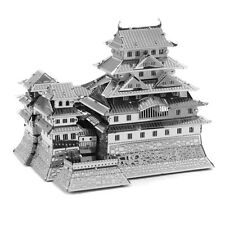 New 3D Cut Building Metal Model Kit Puzzle Educational DIY-Japan Himeji Castle