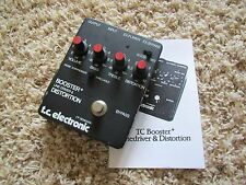 TC Electronic T.C. Booster + Line Driver Distortion TCBLD Guitar Effect Pedal