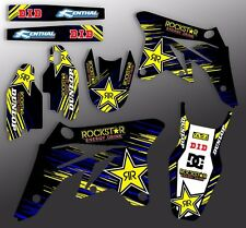 2006 2007 YZ 125 250 GRAPHICS YAMAHA YZ125 YZ250 MOTOCROSS DECALS MX DECO