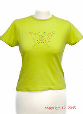 L137/15 Wrangler Tennage Girl's Bright Green T-shirt with Butterflay, age 14-16