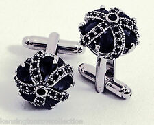 "MENS GIFTS - ""CROWN JEWELS"" CUFF LINKS -  CUFFLINKS - MENS JEWELRY"