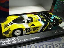 Porsche 956 l le mans #12 Joest New Man 1983 baile enviar Minichamps S-PR 1:43