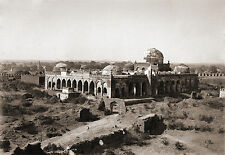 Great Mosque in Gulbarga Fort India 1880, Reproduction Photo 7x5 inch