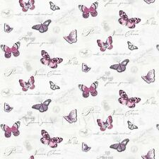 Miniatura Per Casa Delle Bambole Farfalle Su Bianco Carta Da Parati