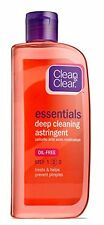 2 Pack - CLEAN & CLEAR Deep Cleaning Astringent Oil-Free 8 oz Each